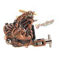 Змея ведьма татуировки металла пистолет 10 перекосов катушками 7000-9000 г / мин фиолетовый бронзу