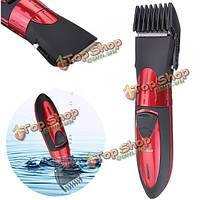 Электрический водонепроницаемый перезаряжаемые мужчин машинка для стрижки волос триммер