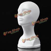 Пенополистирол манекен пены модель головы очки Шляпы парик Дисплей стенд