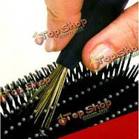 Гребень для волос щетка для чистки косметические средства с пластиковой ручкой
