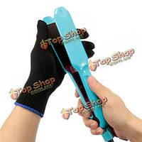 Черная термостойкая перчатка инструмент для укладки волос для завивки выпрямления