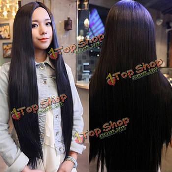 Парик длинные волосы без челки 80см
