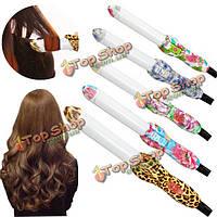 100-240 электрический волосы бигуди керамика щипцы для завивки Уход за волосами
