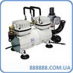 Миникомпрессор+регулятор+фильтр+шланг 1/6HP MC-1103HFRGM Sumake