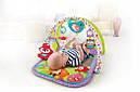 Развивающий коврик Fisher-Price 3-in-1 Друзья музыкальный Лисенок, Musical Activity Gym, фото 4