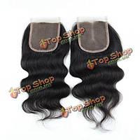 Накладка из натуральных китайских волос на сетке 7а 4x4