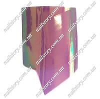 """Фольга  """"Битое стекло"""" для дизайна ногтей №17"""
