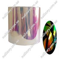 """Фольга  """"Битое стекло"""" для дизайна ногтей №1"""