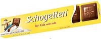 Молочный шоколад Schogetten «For kinder» (детский) 33 г, фото 1