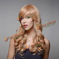 Парик натуральный блондинка 8 цветов