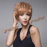 Короткий натуральный парик Remy 14 цветов