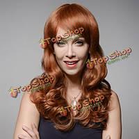 Парик с длинными вьющимися волосами натуральный 8 цветов