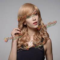 Парик блондинка натуральная 8 цветов 58см