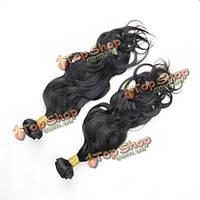 Натуральные черные волосы для ленточного наращивания