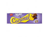 Шоколад Milka молочний з карамелю 280г