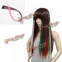 Прядь волос искусственная для наращивания Nawomi
