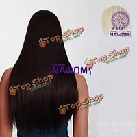 Волосы для наращивания прямые пряди 7шт Nawomi