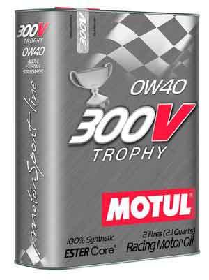 Масло MOTUL 300V Trophy 0W-40 2л (825402)