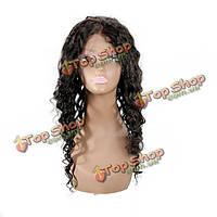 Натуральный парик кучерявые волосы ручная работа
