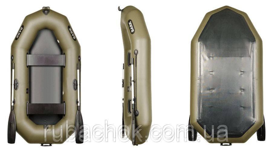 Двухместная гребная надувная лодка Bark (Барк) B-240С