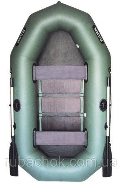 Двухместная гребная надувная лодка Bark (Барк) B-240CD