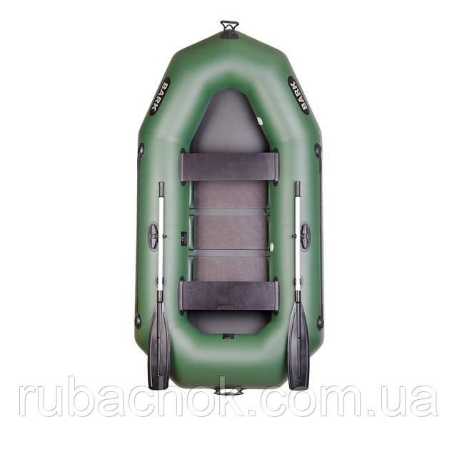 Двухместная гребная надувная лодка Bark (Барк) B-250D