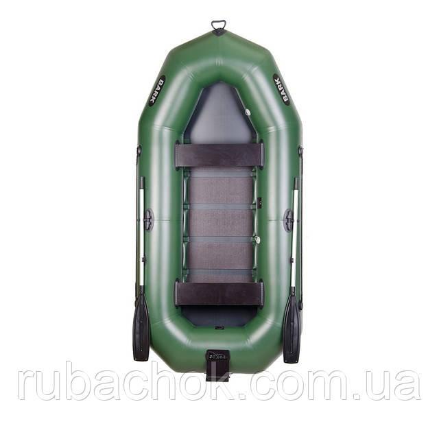 Тримісна гребний надувна лодка Bark (Барк) В-300ND (з навісним транцем)