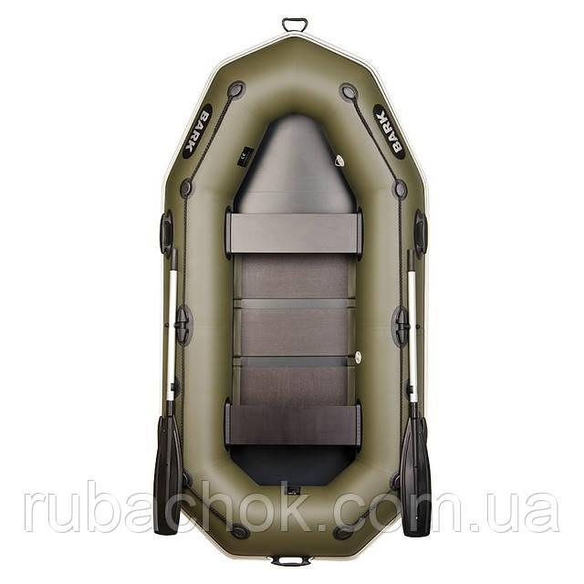 Двомісна гребний надувна лодка Bark (Барк) В-260РD