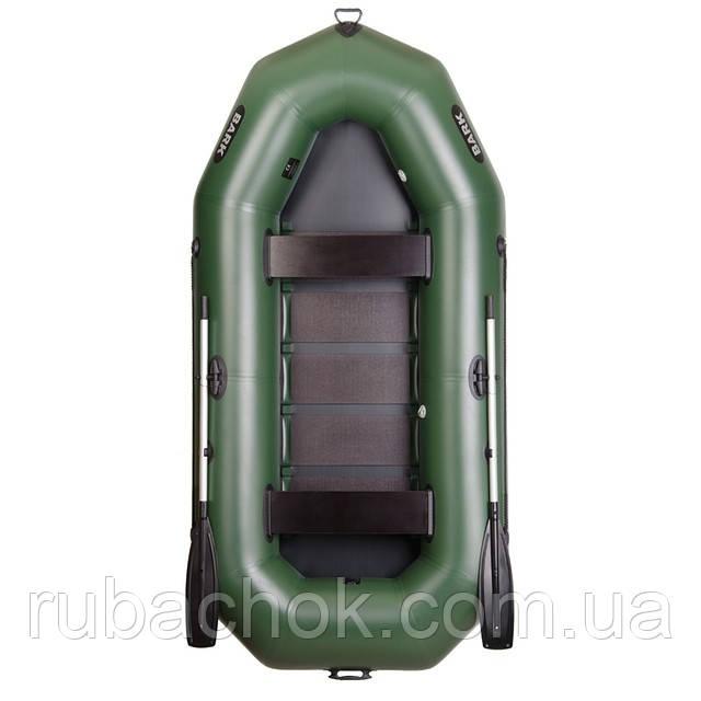 Трехместная гребная надувная лодка Bark (Барк) В-300D