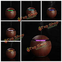 USB деревянный ультразвуковой увлажнитель воздуха аромат эфирное масло диффузор с изменения цвета LED лампы