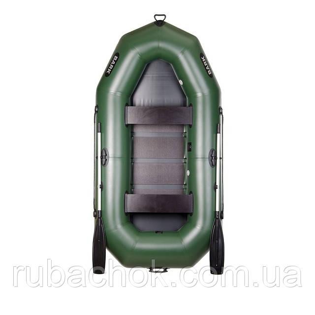 Двомісна гребний надувна лодка Bark (Барк) В-270D