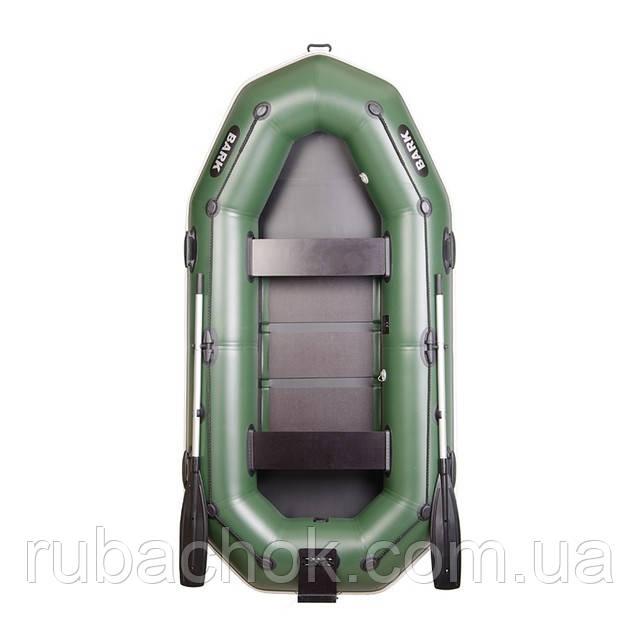 Трехместная гребная надувная лодка Bark (Барк) В-280NРD (с навесным транцем)