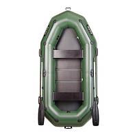 Трехместная гребная надувная лодка Bark (Барк) В-280РD