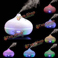 7 цветов изменяя LED Ультразвуковой увлажнитель аромат эфирного масла спа-диффузор очиститель форсунка