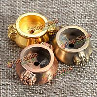 3-х цветов Mini меди горелки портативный держатель ладана ароматерапии