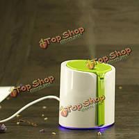 USB мини-сверхзвуковой распылитель увлажнителя воздухоочистителя портативный серый