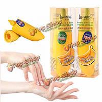45ml банан крем для рук увлажняющий отбеливающий увлажняющий уход за кожей молоко лошадь масло