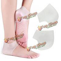 1 пара управления уход силикона увлажнение кожи ног защитника трещина носки