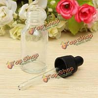 Бутылочка с пипеткой для эфирного масла стеклянная 15мл