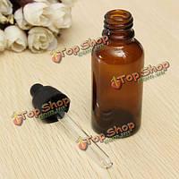 Бутылочка с пипеткой для эфирного масла стеклянная 30мл