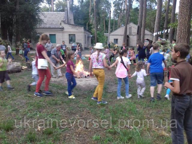 В санатории «Украина» с размахом встретили один из самых ярких славянских праздников Ивана Купала.
