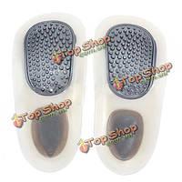 Прогулка подгонки ботинка вставить правильные ортопедические стельки колодки