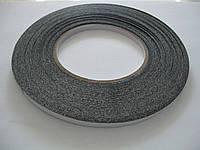 Двухсторонний скотч, черный, 1 мм*50 м, для приклейки сенсоров, дисплеев