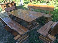 Садовые комплекты: стол+ лавки