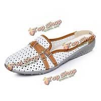 Женщины тапочки сандалии обувь аппартаментов удобные мягкие случайные полые из квартиры пляж тапочки обувь