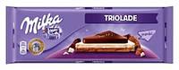 Шоколад Milka Triolade 300г