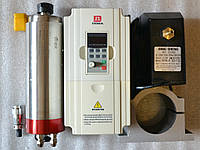 Шпиндель 2,2 кв 10А (4 подшипника)+инвертор для Чпу 11А (водяное охл.)