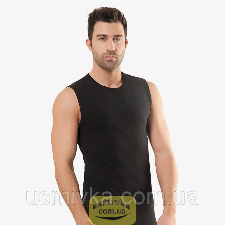 Элегантная мужская безрукавка черная Oztas. BO1792519051
