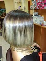 Фарбування омбре на коротке волосся