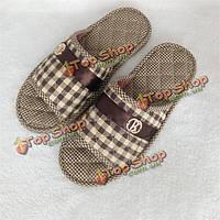 Большой размер однополые сменная обувь домашние тапочки